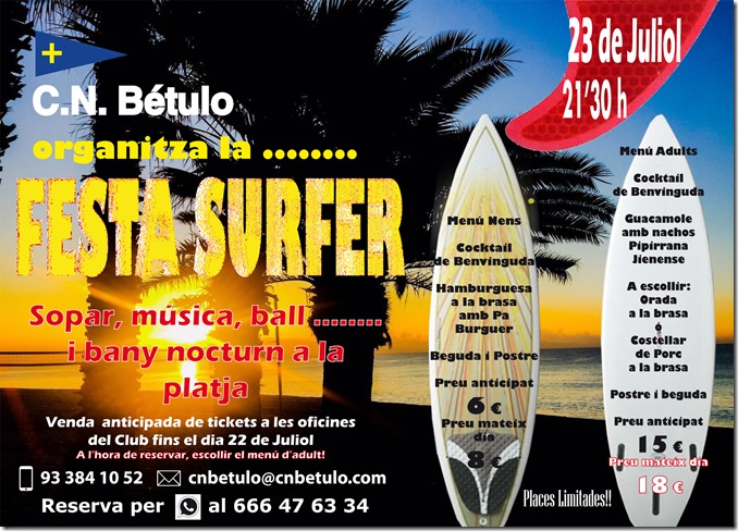 Festa Surfer - C.N.Bétulo - 2016